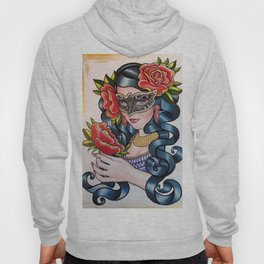 'SECRET ROSE' - Ruth Priest Hoody