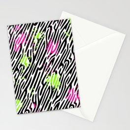 Wild Zebra Print Stationery Cards