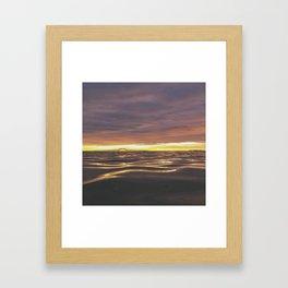long island sunrise part 2 Framed Art Print