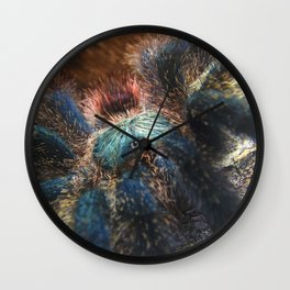 Greenbottle Blue Tarantula Wall Clock