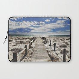 """""""To the beach..."""" Cabo de Gata Laptop Sleeve"""
