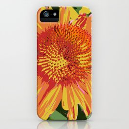Seed Packet of a flower that doesn't exist IRL iPhone Case