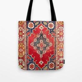 Transylvanian Manisa West Anatolian Niche Carpet Print Tote Bag