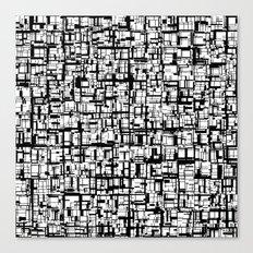 Abstract Mosaic  Canvas Print
