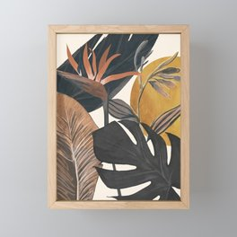 Abstract Tropical Art III Framed Mini Art Print