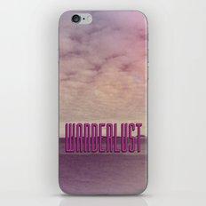 Wanderlust III iPhone & iPod Skin