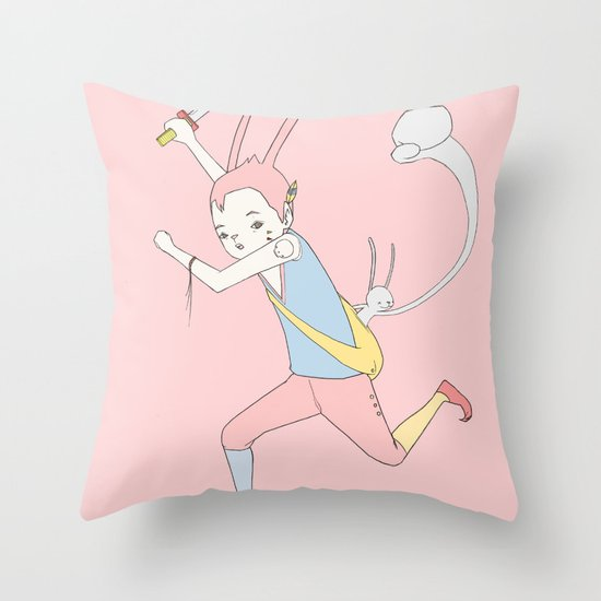 反擊 COUNTER PUNCH Throw Pillow