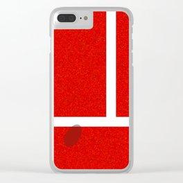 """IN"" – Hawk-Eye – Sand Clear iPhone Case"