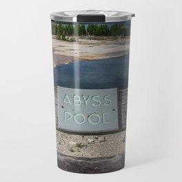 Abyss Pool, West Thumb Geyser Basin, Yellowstone National Park Travel Mug
