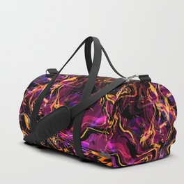 Fluid Abstract 40; Emotional Outburst Duffle Bag