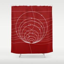 CIRCULAR_DIRECTIONS Shower Curtain