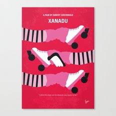 No516 My Xanadu minimal movie poster Canvas Print