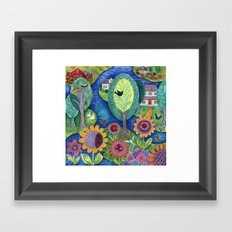 Summer Calling Framed Art Print