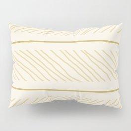 boho stripes pattern ii Pillow Sham