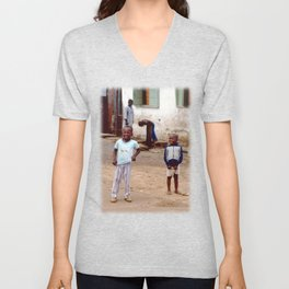 Yeah, You Wanna Take My Picture? Unisex V-Neck