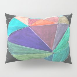 Inverted Color Study Pillow Sham