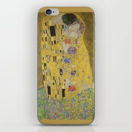 The Kiss - Gustav Klimt iPhone Skin