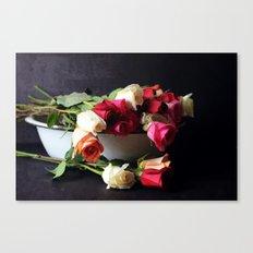 las rosas Canvas Print