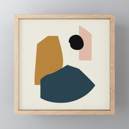 Shape study #1 - Lola Collection Framed Mini Art Print