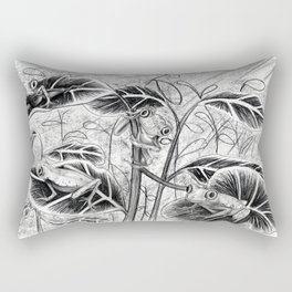 Lemur Leaf Frogs Rectangular Pillow