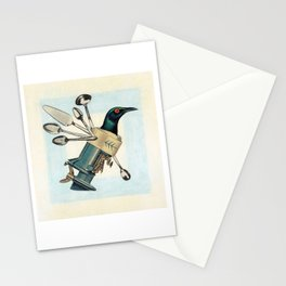Whirly Bird Stationery Cards