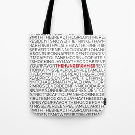 Type: The HungerGames Tote Bag