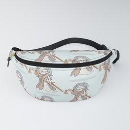 Ghostly Lady Justice Fanny Pack