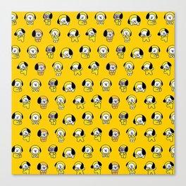 Jimin BTS - Chimmy Canvas Print