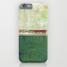 Limerick Irish Ireland Abstract Green Modern Art Landscape iPhone Case