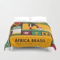 "brasil Duvet Covers featuring ""África Brasil"" - Jorge Ben Jor by Smart Store"
