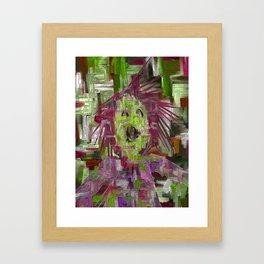 What's The Splatter? Framed Art Print