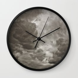 PEACEFUL FRUSTRATION Wall Clock