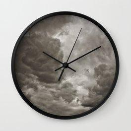PEACEFUL FRUSTRATION Wall Clock