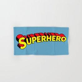 Superhero Hand & Bath Towel