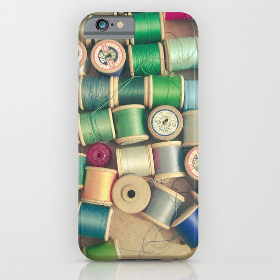 Cotton Reels iPhone & iPod Case