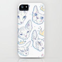 Sphynx Kitties iPhone Case
