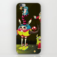 candy iPhone & iPod Skins featuring Candy by Teodoru Badiu