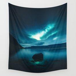 Aurora Borealis (Northern Polar Lights) Wall Tapestry
