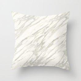 Calacatta gold Throw Pillow