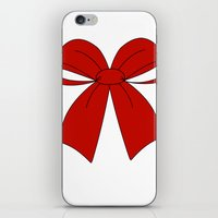 bow iPhone & iPod Skins featuring bow by  MuDi