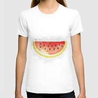 watermelon T-shirts featuring watermelon  by Soso Creation
