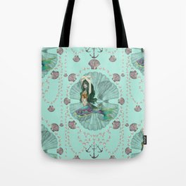 Mermaid Deco Tote Bag