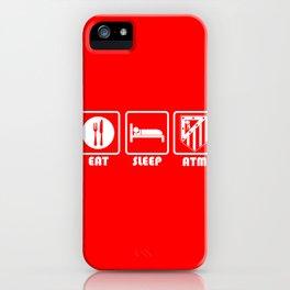 ESP: Atletico iPhone Case