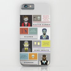 Django Unchained Character Poster iPhone 6s Slim Case