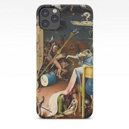 The Garden of Earthly Delights Bosch Hell Bird Man iPhone Case