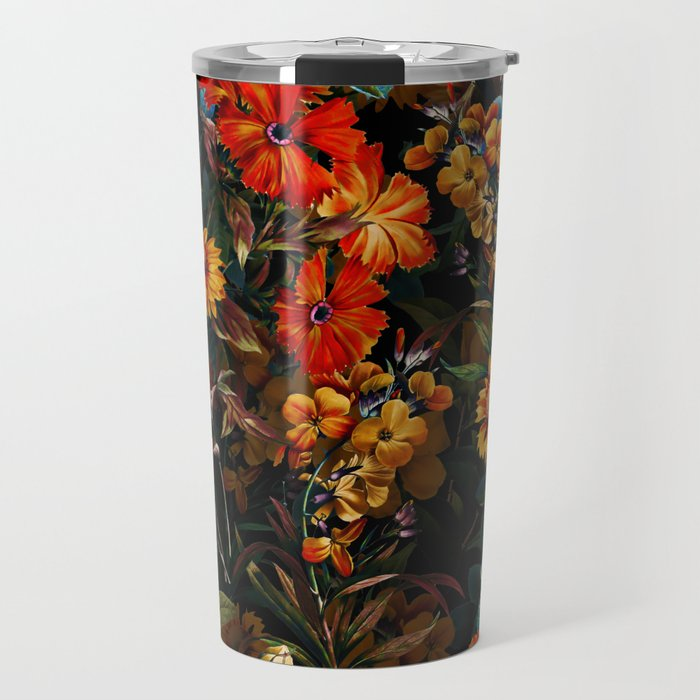 Midnight Garden VII Travel Mug
