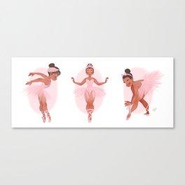 MINI BALLERINAS Canvas Print