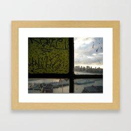Rectangles Framed Art Print