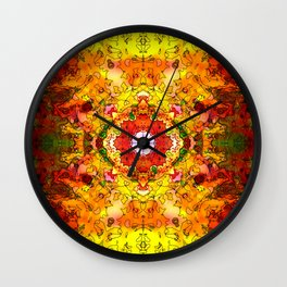 Hidono Flower Wall Clock