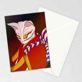 Cat kabuki Stationery Cards